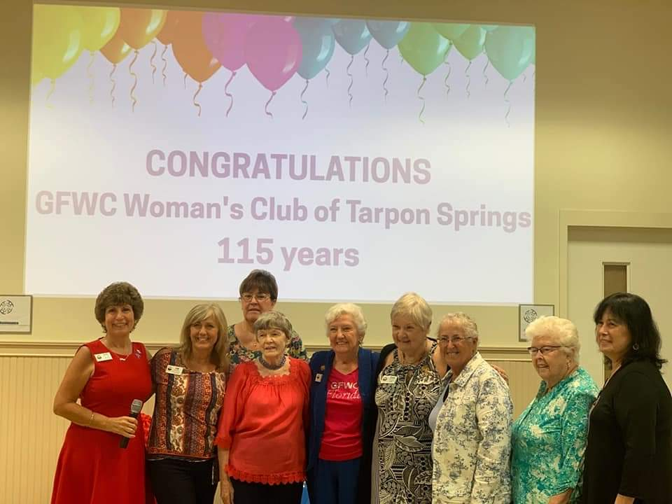 GFWC District 14 Spring Meeting recognizing GFWC Woman's Club celebrating 115 years old.